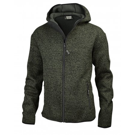 Hubertus Strick Fleece pletená bunda
